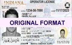 scannable fake indiana id cards fake id illinois
