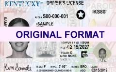 fake id kentucky scannable fake kentucky drivers license