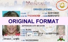 missouri fake drivers license usa fake id license