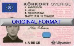 ᐅ SWEDEN FAKE DRIVERS LICENSE | FAKE SWEDEN DRIVING LICENSE